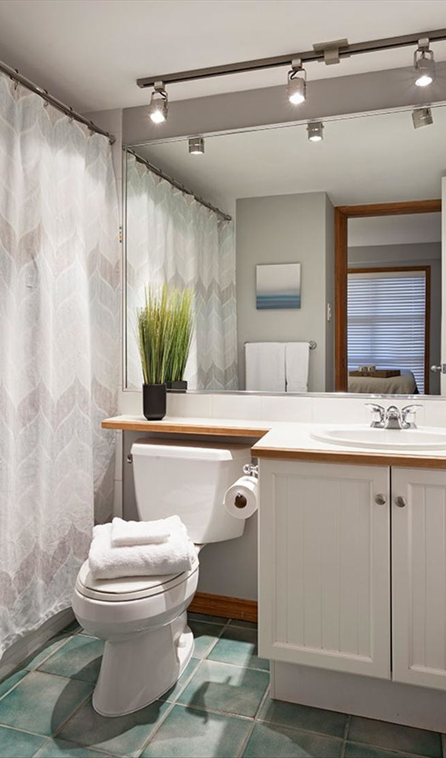 Whistler Vacation Rental Photos :: Nice Clean Bathrooms